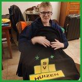Fleece deken sv Huizen